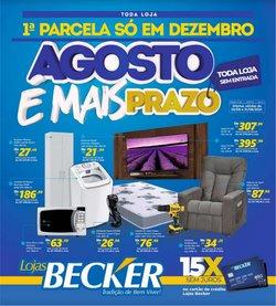 Ofertas de Lojas Becker no catálogo Lojas Becker (  Publicado ontem)