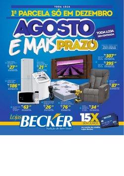 Catálogo Lojas Becker (  16 dias mais)