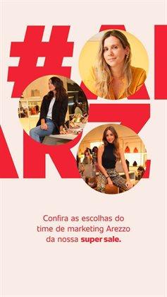 Catálogo Arezzo em Belo Horizonte ( Vencido )