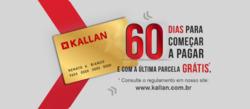 Promoção de Kallan no folheto de São Bernardo do Campo