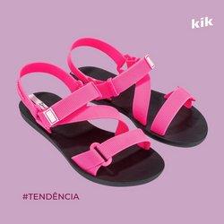 Ofertas de Kik Calçados no catálogo Kik Calçados (  Publicado hoje)
