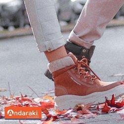Ofertas de Andaraki Calçados no catálogo Andaraki Calçados (  Mais de um mês)