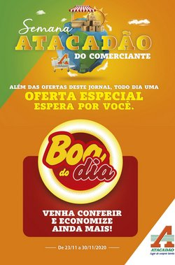 Ofertas Supermercados no catálogo Atacadão em Taboão da Serra ( 3 dias mais )