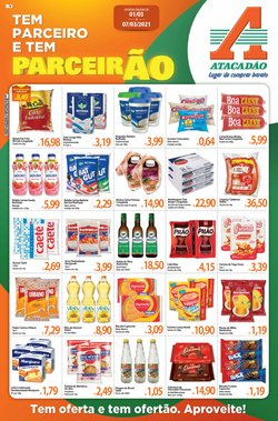 Ofertas Supermercados no catálogo Atacadão em Jaboatão dos Guararapes ( Válido até amanhã )