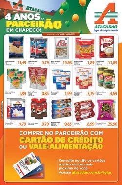 Ofertas de Supermercados no catálogo Atacadão (  Publicado hoje)
