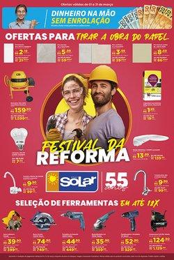 Ofertas Material de Construção no catálogo Lojas Solar em Bento Gonçalves ( Publicado a 2 dias )