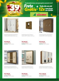Ofertas Lojas de Departamentos no catálogo Lojas Guaibim em Alagoinhas ( Publicado ontem )