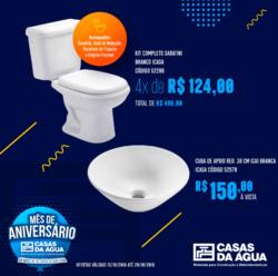 Promoção de Casas da Água no folheto de Florianópolis
