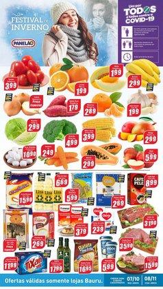 Ofertas de Supermercados no catálogo Panelão (  Publicado hoje)