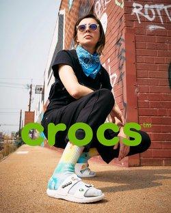 Ofertas de Roupa, Sapatos e Acessórios no catálogo Crocs (  2 dias mais)