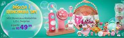 Promoção de Bebês, acessórios e brinquedos no folheto de Ri Happy em Nossa Senhora do Socorro