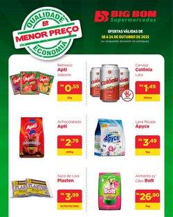 Ofertas de Big Bom Supermercados no catálogo Big Bom Supermercados (  Publicado ontem)