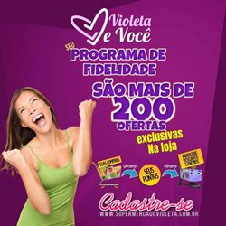 Catálogo Violeta Supermercados em São Paulo ( Publicado hoje )