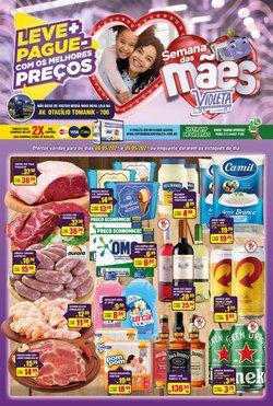 Ofertas de flores no catálogo Violeta Supermercados (  Vence hoje)