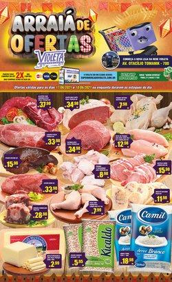 Ofertas de Violeta Supermercados no catálogo Violeta Supermercados (  Válido até amanhã)