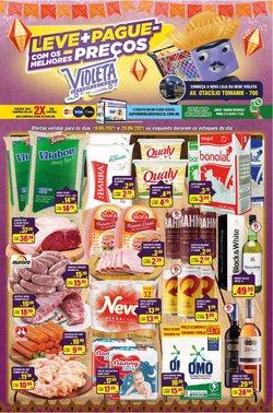Ofertas de Supermercados no catálogo Violeta Supermercados (  Válido até amanhã)