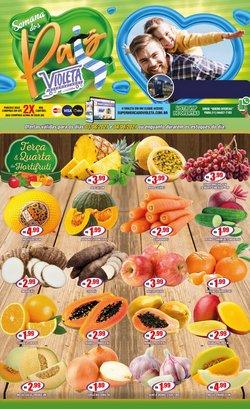 Ofertas de Supermercados no catálogo Violeta Supermercados (  Vence hoje)