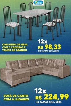 Ofertas Lojas de Departamentos no catálogo Lojas Xavier em Anápolis ( Válido até amanhã )