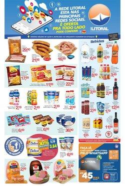 Ofertas de Rede Litoral de Supermercados no catálogo Rede Litoral de Supermercados (  10 dias mais)