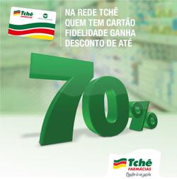 Promoção de Tchê Farmácias no folheto de Pelotas