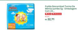 Promoção de Farmácia Dornela no folheto de Contagem