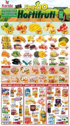 Catálogo Kaçula Supermercados ( Válido até amanhã )