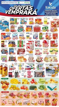 Ofertas Supermercados no catálogo Kaçula Supermercados em Diadema ( 3 dias mais )