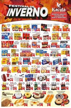 Ofertas de Kaçula Supermercados no catálogo Kaçula Supermercados (  Vence hoje)