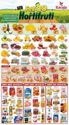 Ofertas de Supermercados no catálogo Kaçula Supermercados (  Publicado hoje)