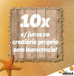 Promoção de Ótica Indaiá no folheto de Brasília