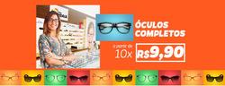 Promoção de Óticas e centros auditívos no folheto de Ótica Indaiá em São Bernardo do Campo