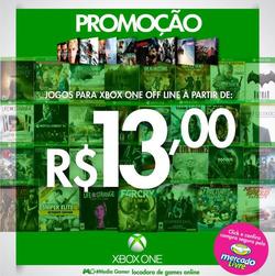Promoção de Geek Store no folheto de Fortaleza