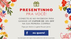 Promoção de Cantão no folheto de Rio de Janeiro