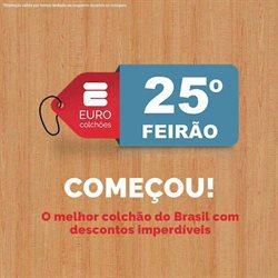 Ofertas Casa e Decoração no catálogo Euro Colchões em Itaboraí ( Vence hoje )