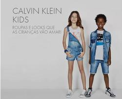 Promoção de Calvin Klein no folheto de Feira de Santana