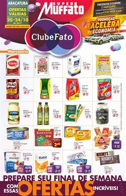 Promoção de Supermercados no folheto de Super Muffato em Araçatuba