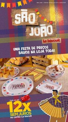 Ofertas de Le Biscuit no catálogo Le Biscuit (  10 dias mais)