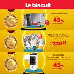 Ofertas de Le Biscuit no catálogo Le Biscuit (  Válido até amanhã)