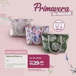 Ofertas de Lojas de Departamentos no catálogo Le Biscuit (  Válido até amanhã)