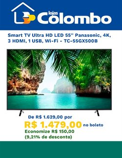 Catálogo Lojas Colombo em Joinville ( Vencido )