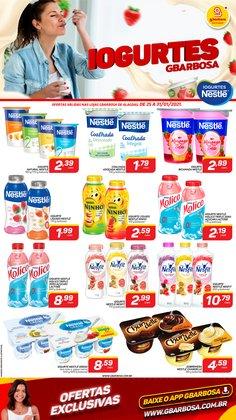 Ofertas Supermercados no catálogo GBarbosa em Maceió ( Publicado hoje )