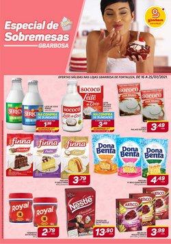Ofertas de Supermercados no catálogo GBarbosa (  2 dias mais)