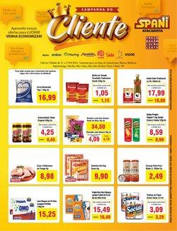 Ofertas de Supermercados no catálogo Spani Atacadista (  Publicado ontem)