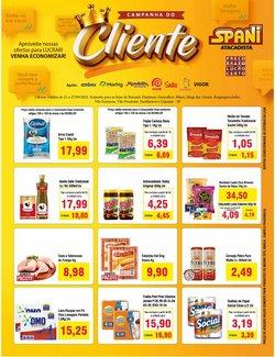 Ofertas de Supermercados no catálogo Spani Atacadista (  Válido até amanhã)