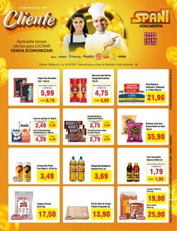 Ofertas de Supermercados no catálogo Spani Atacadista (  Vence hoje)