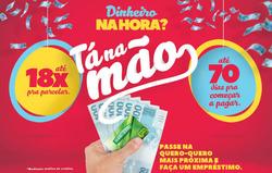 Promoção de Quero Quero no folheto de Porto Alegre