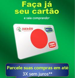 Promoção de Supermercado Japão no folheto de São Paulo