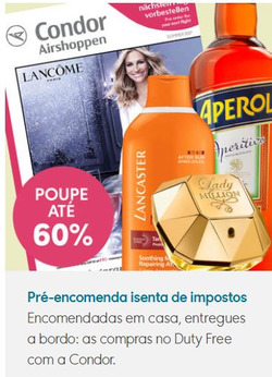 Promoção de Condor no folheto de São Paulo