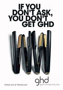 Promoção de Prancha para cabelo no folheto de The Hut International em São Paulo