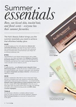 Promoção de Base de maquiagem no folheto de The Hut International em São Paulo